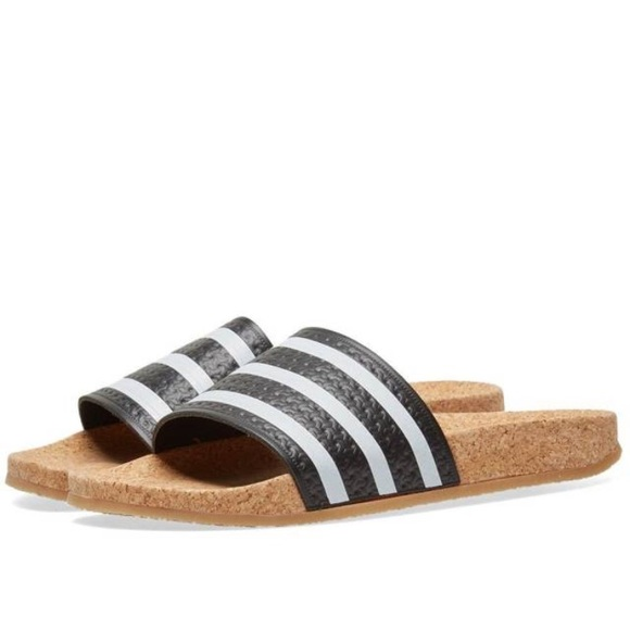 pretty nice 91c6e db5fb adidas Shoes - Adidas Originals Adilette Cork Slides